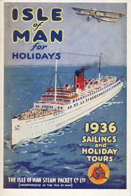 Sailings & Holiday Tours Season 1936