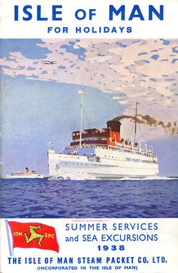 Sailings & Holiday Tours Season 1938