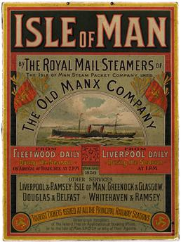 Isle of Man by the Royal Mail Steamers…