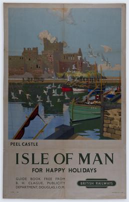 Peel Castle Isle of Man for Happy Holidays