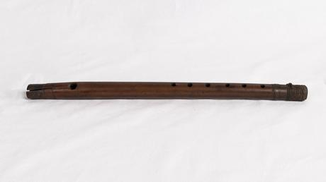 Wooden fife used by a soldier of the…