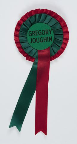 Rosette from the 1991 House of Keys election
