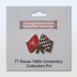 Tourist Trophy centenary badge
