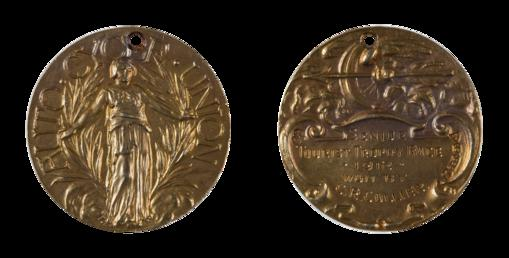 Auto Cycle Union gold medal