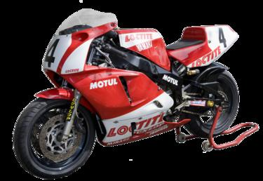 Yamaha motorcycle ridden by Carl Fogarty in the…